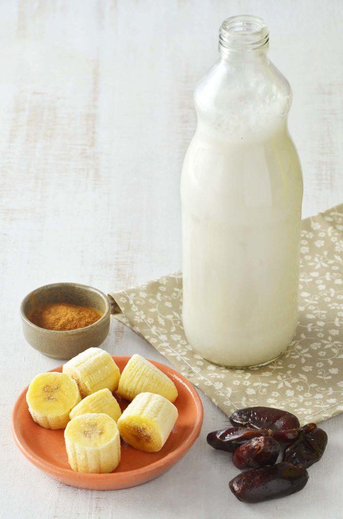 Ingredientes do shake