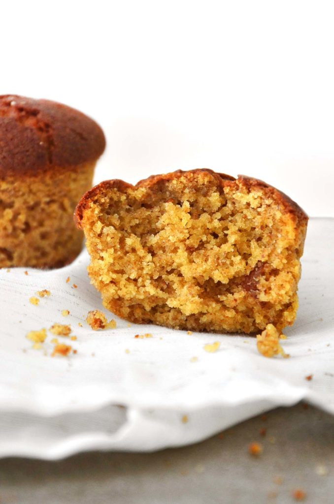 Muffins de amêndoas com tangerina