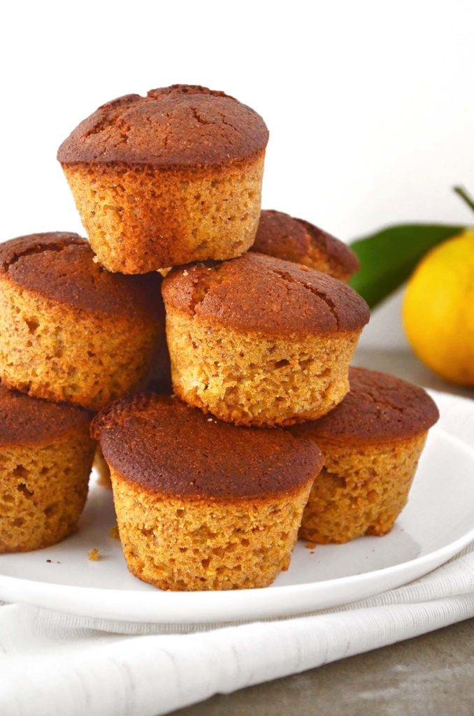 Muffins integrais.