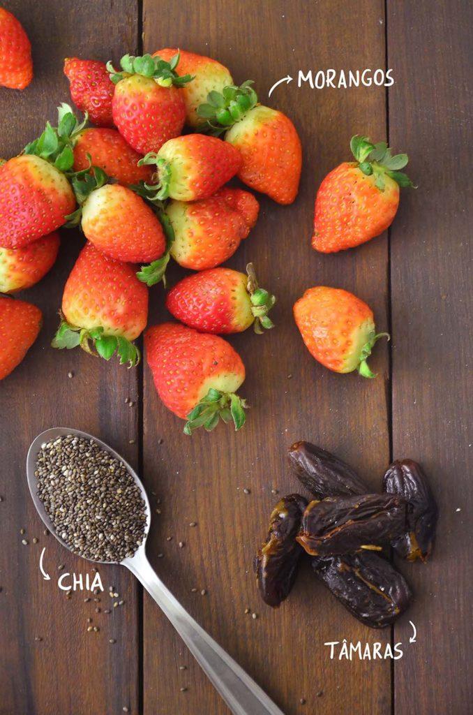 Extremamente Geleia de morango (sem açúcar) – Tempero Alternativo AK25